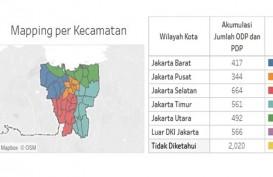 Update Corona DKI 29 April 2020: Kasus Positif Tembus 4.033, Dirawat 2.022 Orang