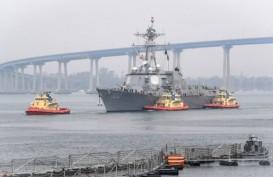 64 Awak Kapal Perusak USS Kidd Positif Corona, 300 ABK Dikarantina