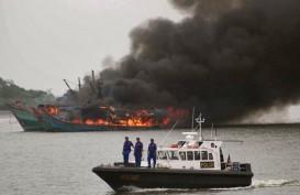 Pelaku Illegal Fishing yang Tenggelam di Natuna Belum Ditemukan
