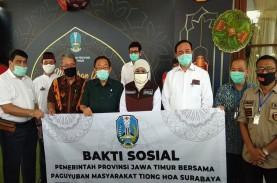 Paguyuban Masyarakat Tionghoa Surabaya Salurkan Bantuan…