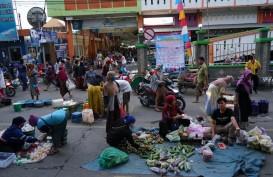 Setelah Salatiga, Pasar Bintoro Demak Terapkan Jaga Jarak