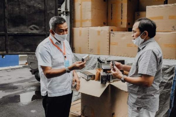 Di Tengah Pandemi Covid-19, Bea Cukai Jabar Tetap Lakukan Pengawasan Rokok Ilegal