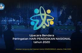 Peringati Hardiknas 2020, Mendikbud Nadiem Makarim Pimpin Upacara Secara Virtual