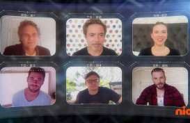 Pemain Utama Film Avenger Endgame Gelar Reuni Virtual