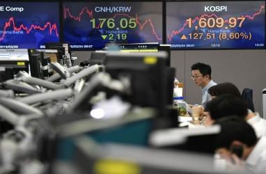 Aksi Risk-off Awal Mei Bikin Bursa Asia Melemah