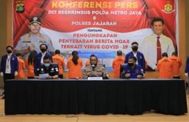 Polda Metro Jaya Ungkap 443 Hoaks dan Ujaran Kebencian Covid-19