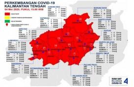 Gawat! Seluruh Wilayah Kalteng Zona Merah Covid-19