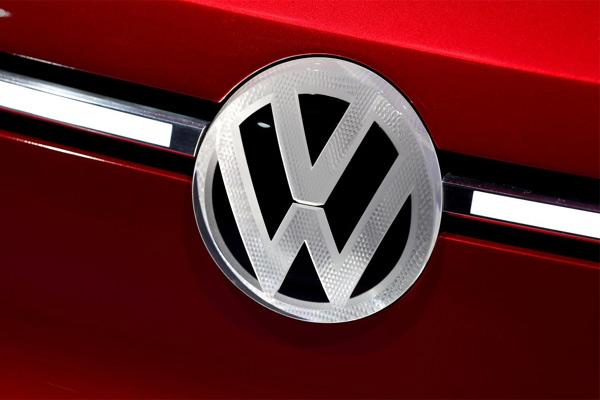 Logo Volkswagen. - REUTERS