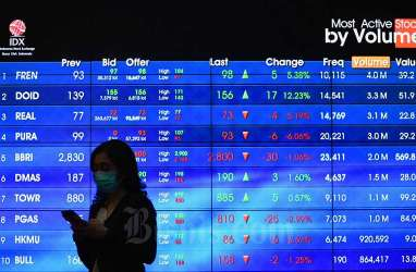 Transaksi Broker April 2020 Capai Rp287 Triliun, Turun 13,5 Persen