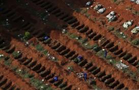 Kasus Corona di Brasil Tembus 100.000
