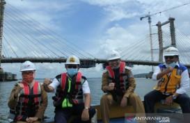 Dibangun Sejak 2015, Jembatan Teluk Kendari Selesai Tahun Ini