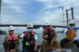Dibangun Sejak 2015, Jembatan Teluk Kendari Selesai…