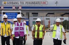 Jalan Tol Pekanbaru-Dumai Bisa Digunakan Pertengahan Bulan Ini