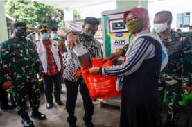 ATM Sikomandan Salurkan 155 Ton Beras