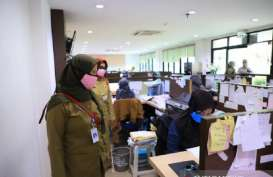 Disnaker Kota Tangerang Sidak Industri Terkait Aturan PSBB