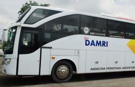 LARANGAN BUS PENUMPANG : DAMRI Garap Logistik