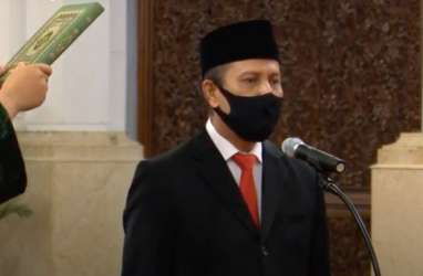 Resmi Dilantik, Ini Arahan Jokowi ke Kepala BNPT Boy Rafli