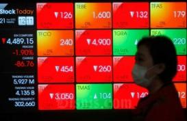 IHSG Volatil, Saham Big Caps Dilego Asing, BBCA Malah Net Buy