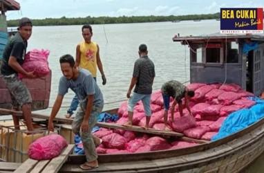 Tim Gabungan Bea Cukai Aceh Gagalkan Penyelundupan 13 Ton Bawang Merah