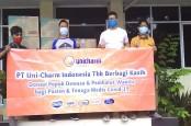 Atasi Virus Corona, Uni Charm Indonesia Sumbang Popok Dewasa dan Pembalut