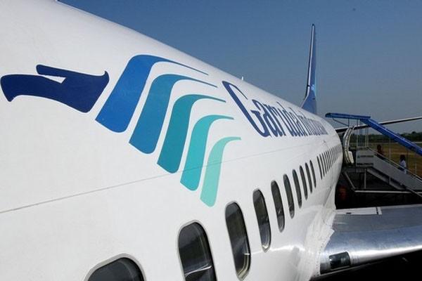 Harga saham emiten maskapai penerbangan PT Garuda Indonesia (Persero) Tbk. terpantau menghijau selama dua hari berturut-turut. - JIBI