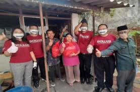 Pollux Group Bagikan 1.000 Sembako bagi Warga Terdampak…