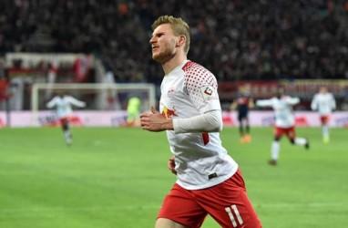 Harga Werner Bisa Jatuh Jika Gagal Bawa Leipzig Juara Bundesliga