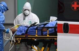 Pandemi Virus Corona di Italia Melambat