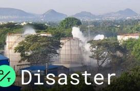 Perusahaan Gas India Kembali Bocor, Ribuan Orang Dievakuasi