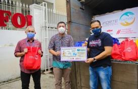 Anak Usaha TOWR, iForte Salurkan 500 Paket Sembako Lewat #BagiAsa
