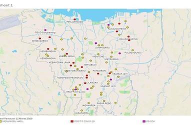 Naik Lebih dari 3 Kali Lipat, Inilah 10 Kelurahan Terbanyak Kasus Covid-19 di DKI