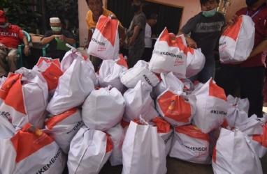 Distribusi Sembako Warga Terdampak Covid-19 di Tangerang Selesai Satu Pekan