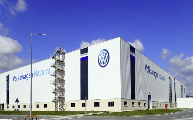 Volkswagen Navarra. Pabrik yang berlokasi di Spanyol Utara itu memiliki setidaknya 4.800 pekerja dan telah memproduksi model Polo dan juga VW T/Cross. /Volkswagen