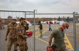 Jumlah Kematian Akibat Covid-19 di Italia Terus Menurun