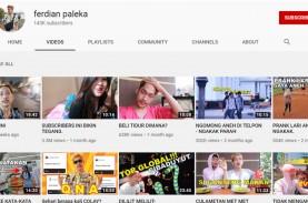 Ferdian Paleka malah Panen Subscriber setelah Video…