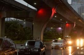 Cuaca Jakarta 13 Mei, Sore Hari Hujan di Jaksel