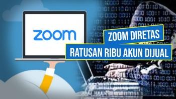 Zoom Diretas, Lebih dari 500 Ribu Akun Dijual