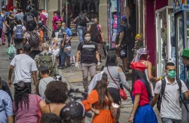 Kasus Corona Brasil Lewati Jerman, Presiden Bawa Negara ke Jurang