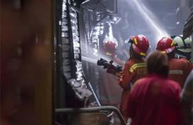 Kasus Kebakaran di Kota Bandung Menurun Selama Pelaksanaan PSBB