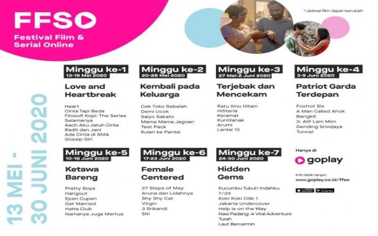 GoPlay Hadirkan Lebih dari 40 Film dan Serial Secara Eksklusif di Festival Film dan Serial Online