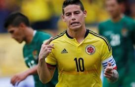 Everton Saingi Atletico Madrid untuk Dapatkan James Rodriguez