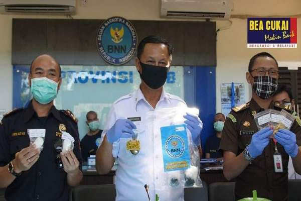 Bea Cukai Ikut Musnahkan Narkotika dari Tiga Penindakan di Mataram
