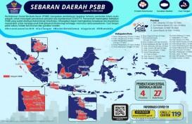 Data Pasien Sembuh Sejumlah Provinsi 14 Mei: DKI 1.162 , Bali 223