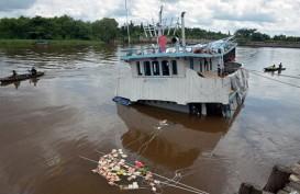 Kapal Pengangkut Sembako Karam di Riau