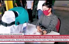 Rapid Test 18 Pasar Makassar, 204 Pedagang Reaktif Corona, harus Isolasi Mandiri
