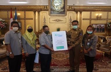 BP Jamsostek Sulawesi Maluku Donasikan Dua Ton Beras Hingga 100 APD untuk Sulsel