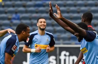 Hasil Bundesliga : Gladbach Hajar Frankfurt, Dekati Dortmund