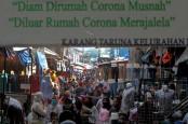 BERITA FOTO : H-7 Lebaran, Pasar Tanah Abang Kembali Ramai