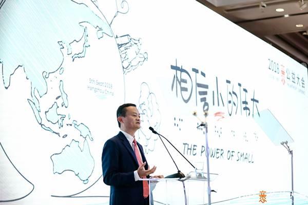 Jack Ma pada pembukaan Xin Philanthropy Conference 2018 - Alibaba