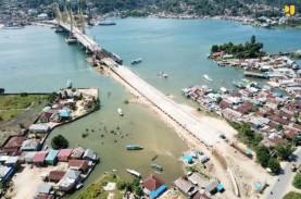 Pembangunan Jembatan Teluk Kendari Hampir Selesai,…